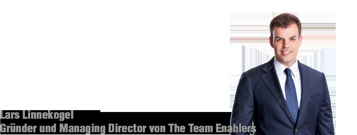 Lars Linnekogel - Managing Director von The Team Enablers über Change Management im Wandel
