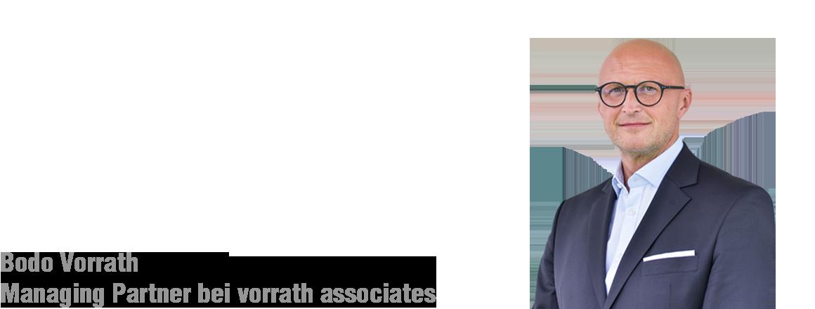 Bodo Vorrath Managing Partner von vorrath associates